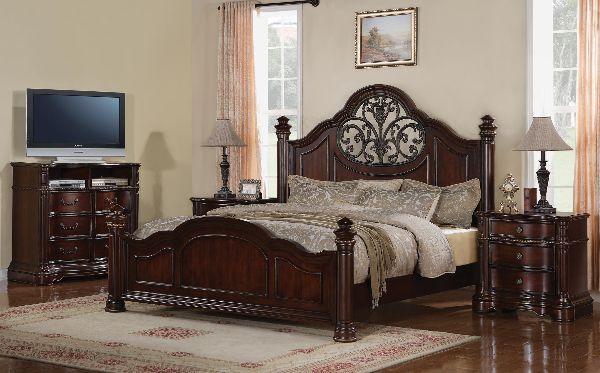 Wynwood Heritage Manor Queen Mansion Bed-1999-90Q
