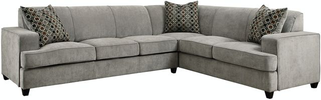 Coaster® Tess Casual Grey Sectional-500727