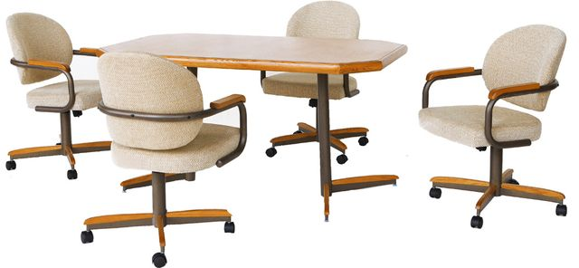 Chromcraft™ Dining Table-CD143M+DB37MTZ