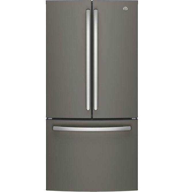 GE® Series 24.8 Cu. Ft. French Door Refrigerator-Slate-GNE25JMKES