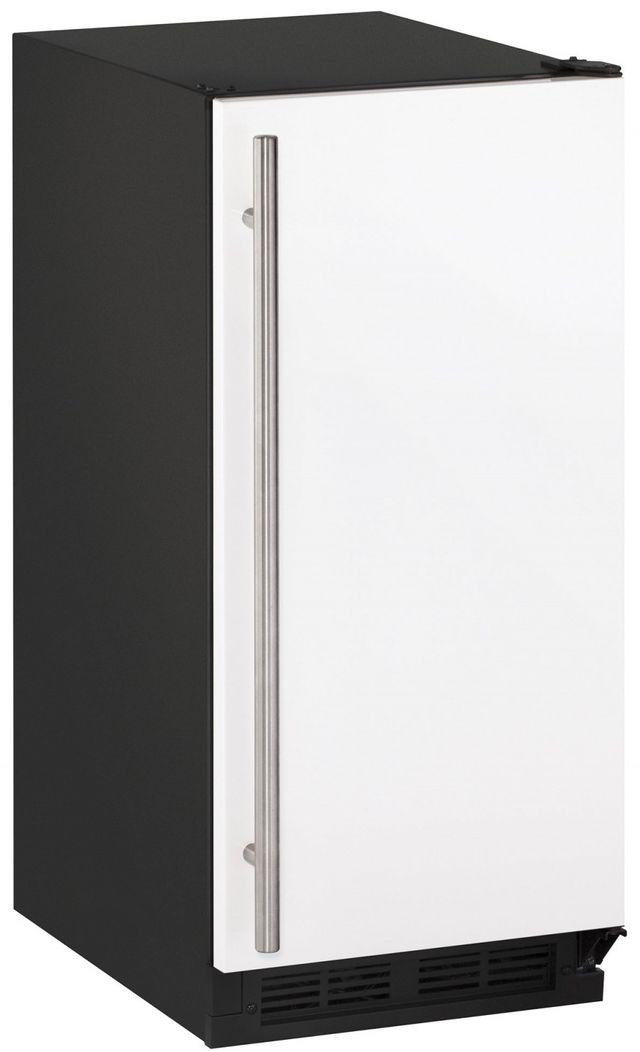 "U-Line® 1000 Series 14.94"" White Ice Maker-CLR1215W-00B"