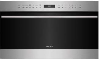 """Wolf® E Series Transitional 30"""" Stainless Steel Built In Microwave Oven-MDD30TE/S/TH"""