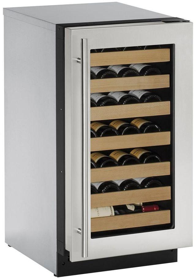U-Line® 2000 Series 3.6 Cu. Ft. Stainless Steel Wine Cooler-2218WCS-00B