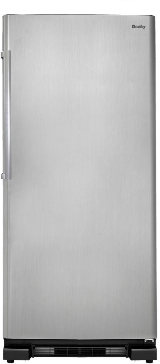 Danby® Designer® 16.7 Cu. Ft. Stainless Steel Upright Freezer-DUF167A4BSLDD