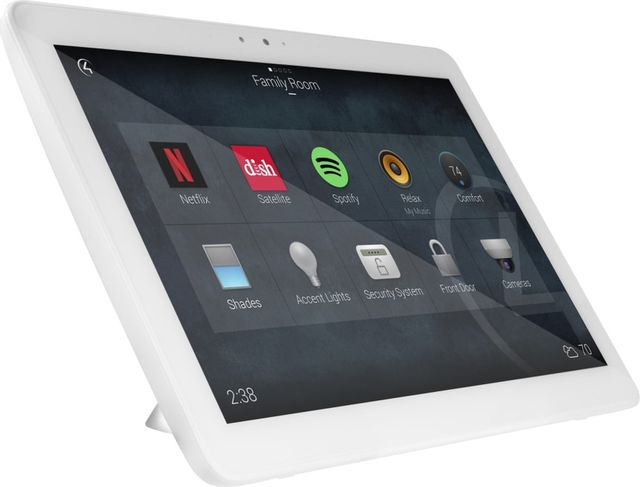 """Control4® T4 Series White 10"""" Tabletop Touchscreen-C4-T4T10-WH"""