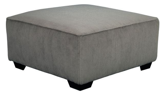 Signature Design by Ashley® Jinllingsly Gray Oversized Accent Ottoman-7250208