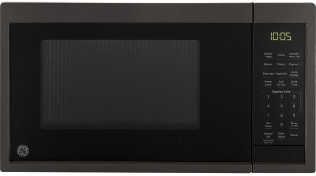 GE® Countertop Microwave-Black Stainless Steel-JES1095BMTS