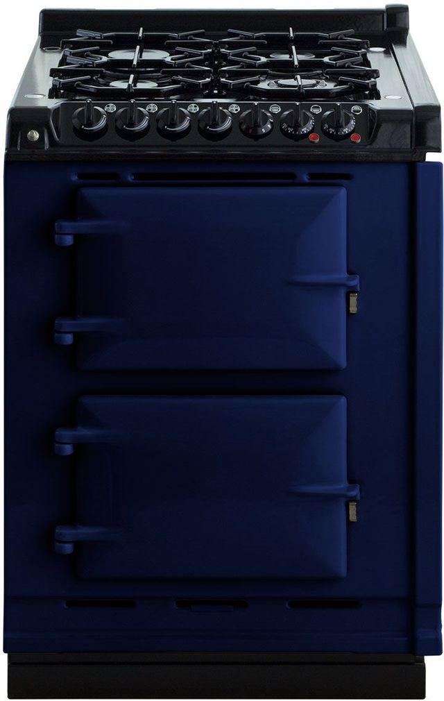 "AGA 24"" Dark Blue Integrated Dual Fuel Range-TCDCLPM-DBL"