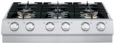 """Electrolux Icon 36"""" Gas Slide In Cooktop-Stainless Steel-E36GC75PSS"""