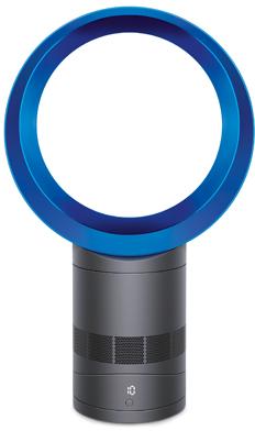 """Dyson AM06 10"""" Blue/Iron Desk Fan-300873-01"""