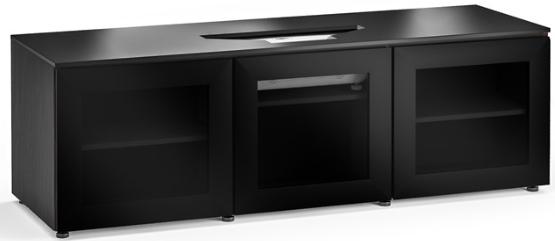 Salamander Designs® Chameleon Oslo Black Oak 237 Vivitek Projector Integrated Cabinet-X/VIV237OS/BG