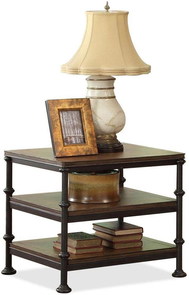 Riverside Furniture Camden Town Rectangular Side Table-23709