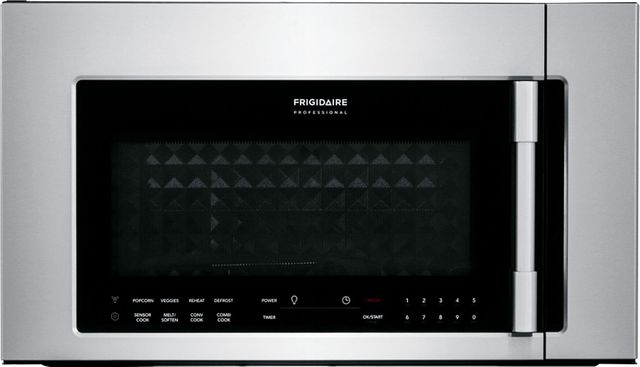 Frigidaire Professional® 1.8 Cu. Ft. Stainless Steel Over The Range Convection Microwave-FPBM3077RF
