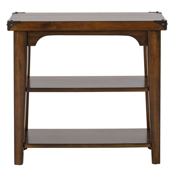Liberty Furniture Aspen Skies Chair Side Table-316-OT1021