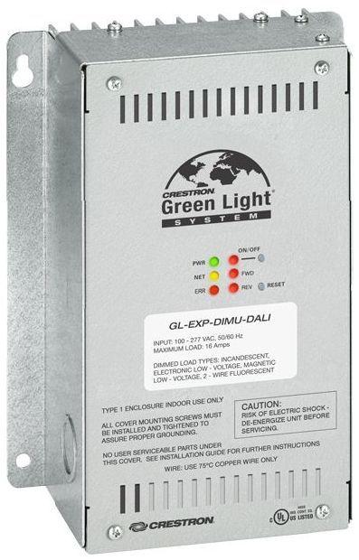 Crestron® Green Light® Universal Dimmer Expansion Module-GL-EXP-DIMU-DALI