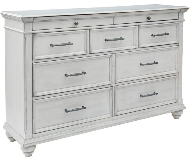 Benchcraft® Kanwyn Whitewash Dresser-B777-31