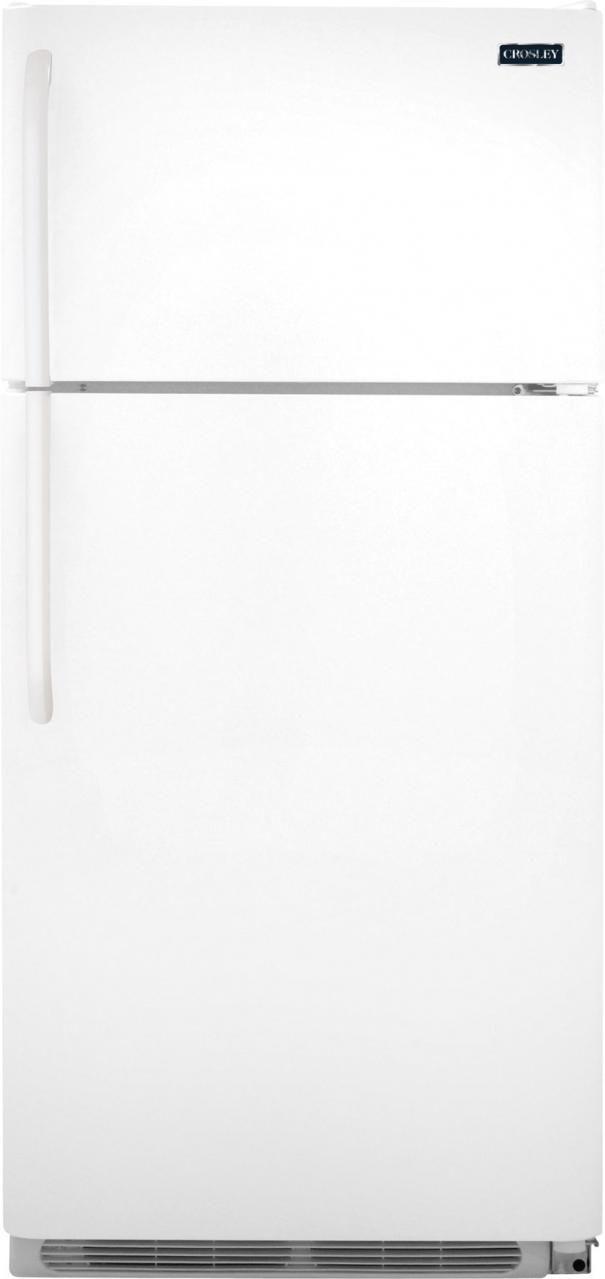 Crosley® 20.84 Cu. Ft. White Top Freezer Refrigerator-CRD2123NW