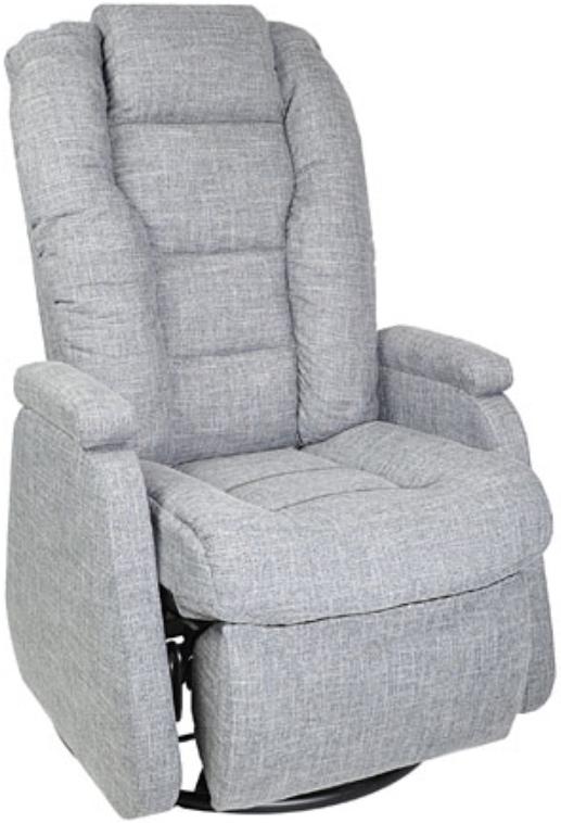 Fauteuil inclinable NEO en tissu gris PEL International®-215456