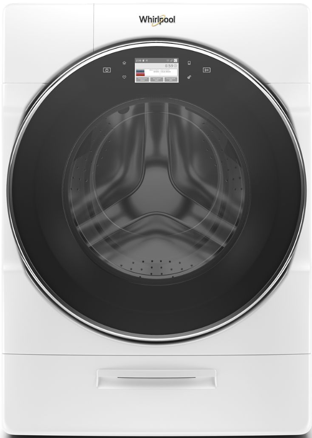 Whirlpool® 5.0 Cu. Ft. White Front Load Washer-WFW9620HW