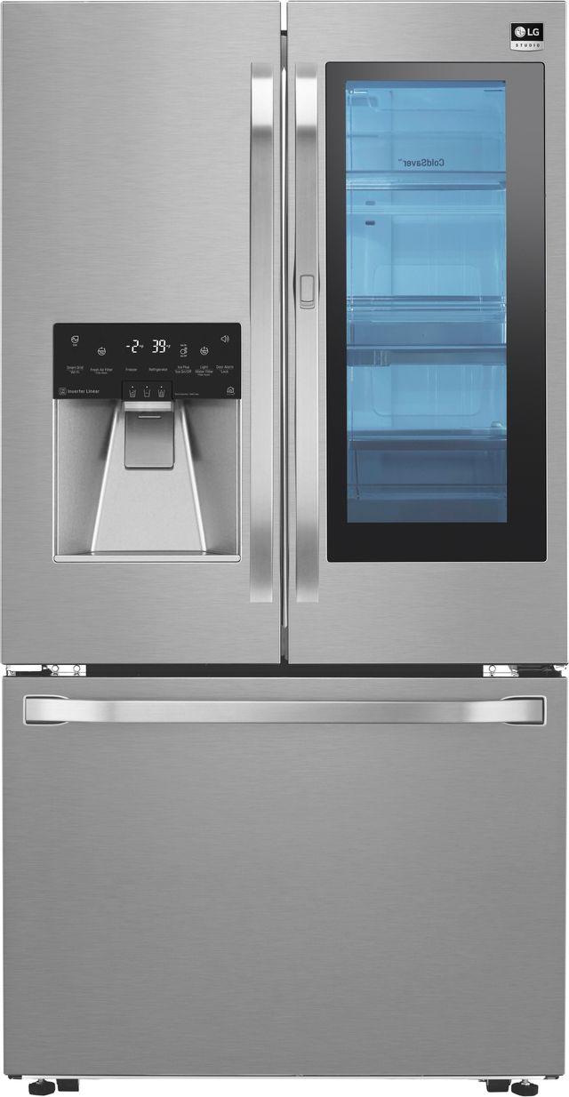 Réfrigérateur à portes françaises de 36 po LG Studio® de 23,5 pi³ - Acier inoxydable-LSFXC2496S