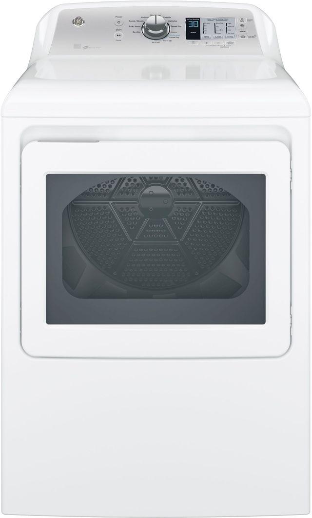 GE® Electric Dryer-White-GTD65EBSJWS