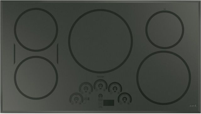 """Café™ 36"""" Flagstone Gray Induction Cooktop-CHP95362MSS"""