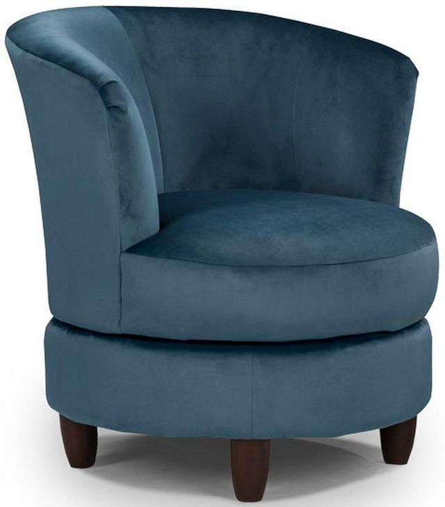 Best Home Furnishings Palmona Espresso Swivel Chair-2948E