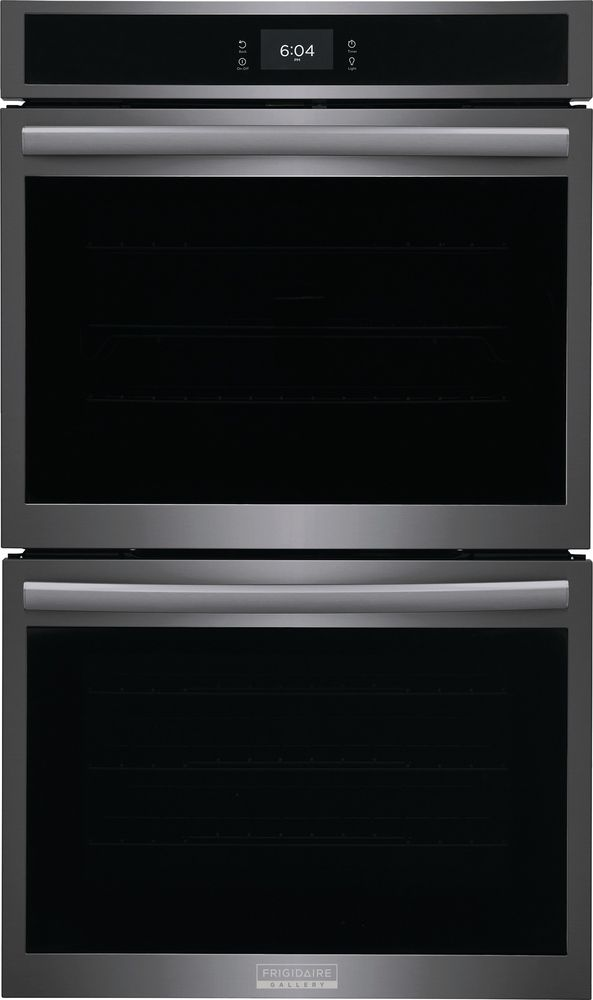 """Frigidaire Gallery 30"""" Smudge-Proof® Black Stainless Steel Double Electric Wall Oven-GCWD3067AD"""