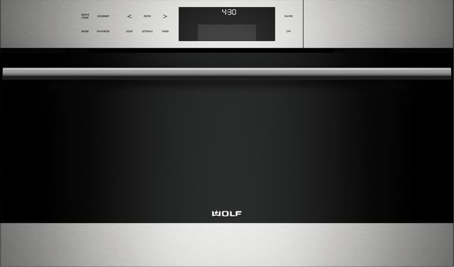 """Wolf® E Series 30"""" Stainless Steel Transitional Convection Steam Oven-CSO30TESTH-12-7299"""