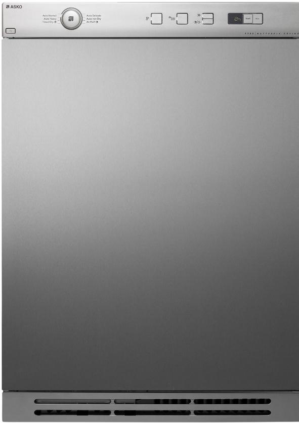 ASKO Front Load Electric Dryers-Titanium-T754T