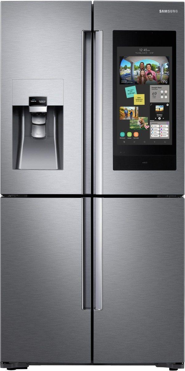 Samsung 28 Cu. Ft. Capacity French Door Refrigerator-Fingerprint Resistant Stainless Steel-RF28N9780SR-RF28N9780SR