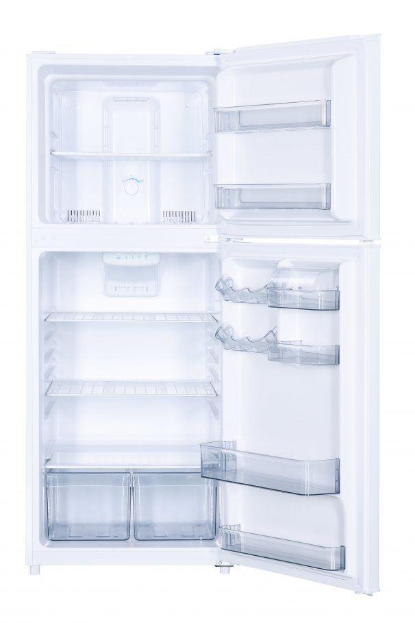 Réfrigérateur à congélateur supérieur de 23 po Danby® de 11,6 pi³ - Blanc-DFF116B2WDBR