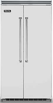 Viking® Professional 5 Series 25.32 Cu. Ft. Built-In Side By Side Refrigerator-Stainless Steel-VCSB5423SS