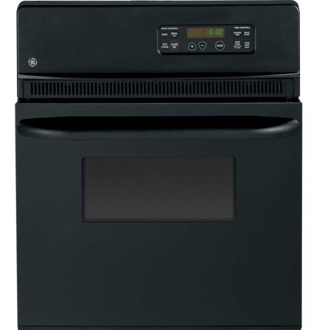 "GE® 24"" Electric Single Oven Built In-Black-JRP20BJBB"