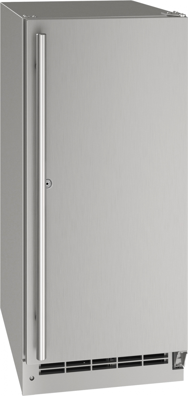 """U-Line® 15"""" Stainless Solid Outdoor Refrigerator-UORE115-SS31A"""