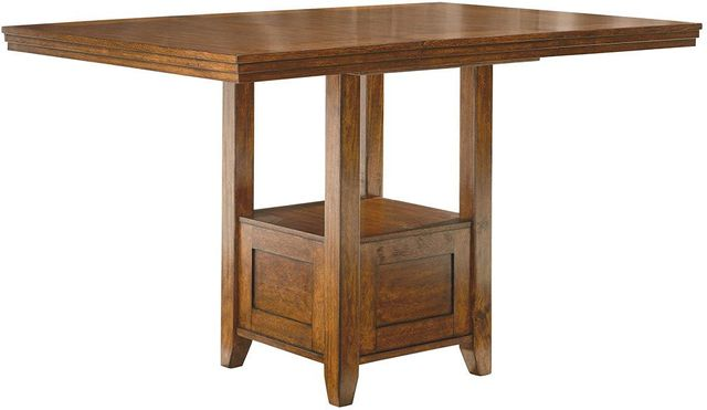 Signature Design by Ashley® Ralene Medium Brown Counter Height Dining Room Table-D594-42