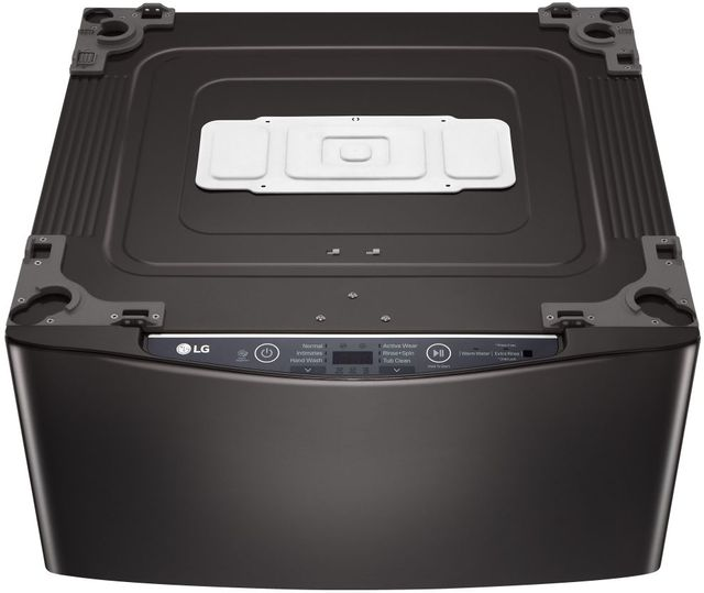 LG SideKick™ 1.0 cu. ft. Black Steel Laundry Pedestal-WD100CB