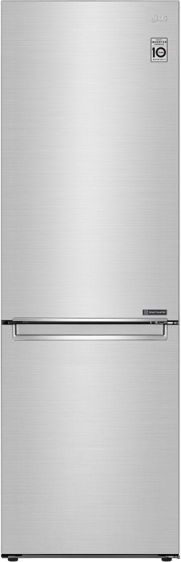 LG 12 Cu. Ft. PrintProof™ Stainless Steel Counter Depth Bottom Freezer Refrigerator-LRBCC1204S