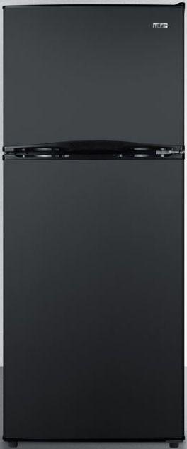 Summit® 9.9 Cu. Ft. Top Freezer Refrigerator-Black-FF1072B
