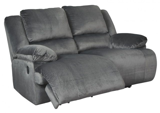 Signature Design by Ashley® Clonmel Charcoal Reclining Loveseat-3650586