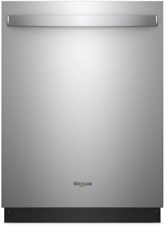 "Whirlpool® 24"" Built In Dishwasher-Fingerprint Resistant Stainless Steel-WDT970SAHZ"