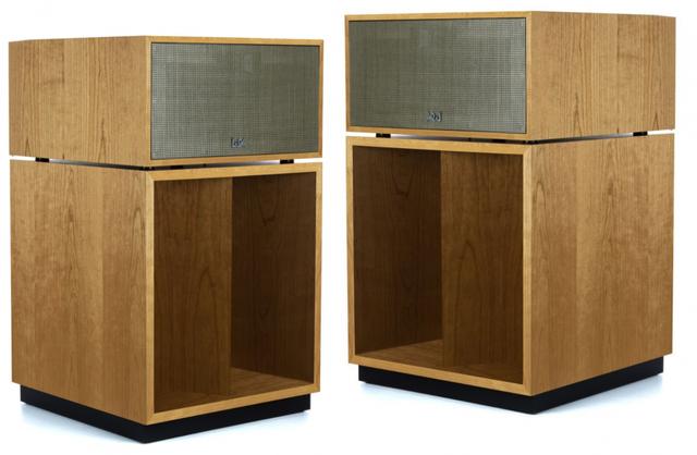 Klipsch® La Scala AL5 Natural Cherry Floorstanding Speaker Pair-1067091