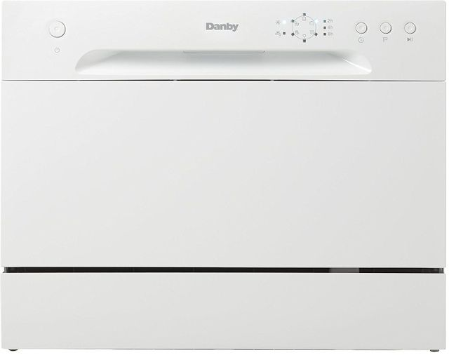 "Danby® 22"" Portable Dishwasher-White-DDW621WDB"