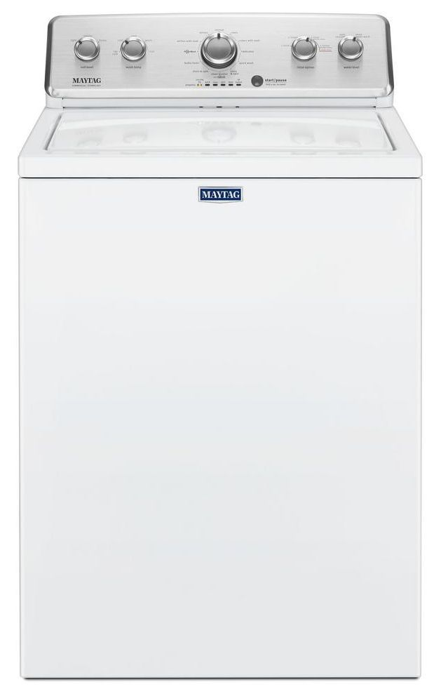 Maytag® 3.8 Cu. Ft. White Top Load Washer-MVWC465HW
