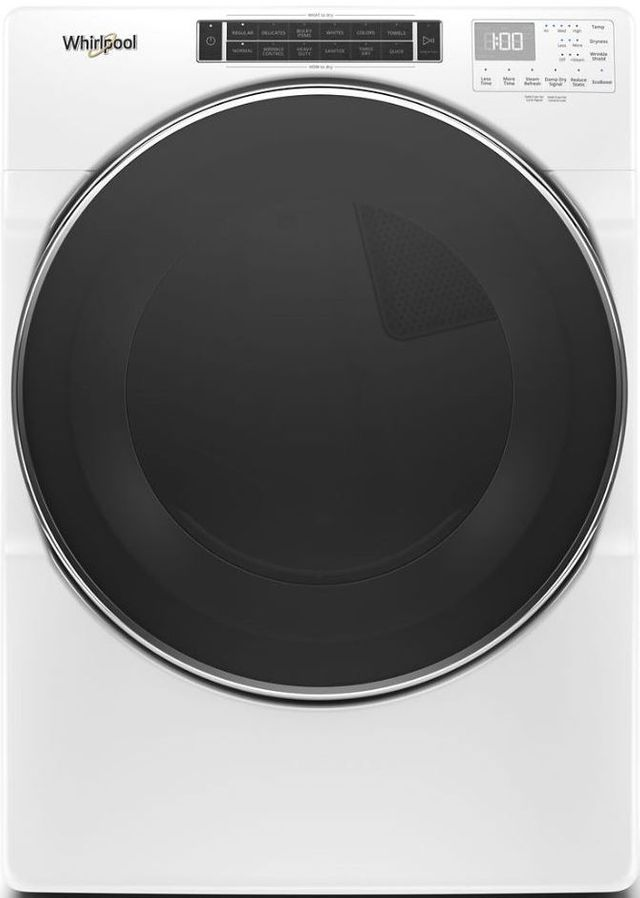 Whirlpool® 7.4 White Front Load Gas Dryer-WGD8620HW