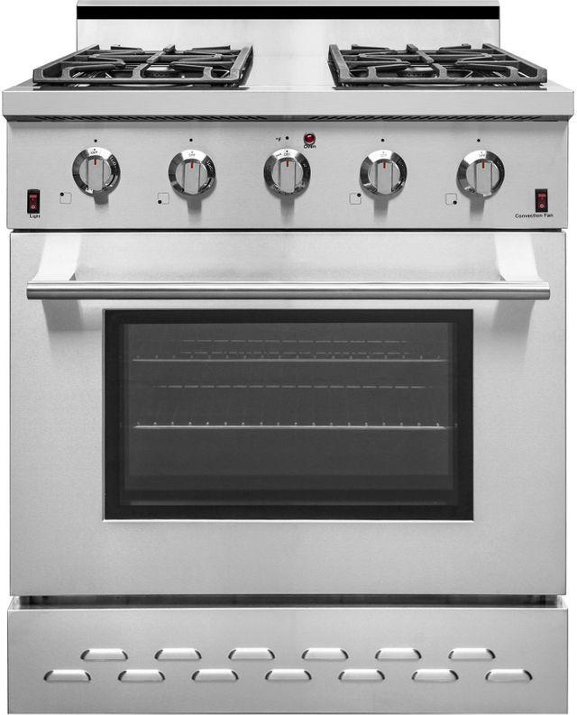 "NXR 30"" Stainless Steel Pro Style Gas Range-SC3055"