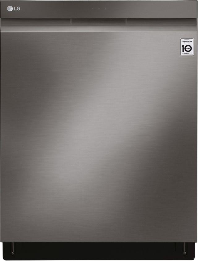 """LG 24"""" PrintProof™ Black Stainless Steel Built In Dishwasher-LDP7808BD"""