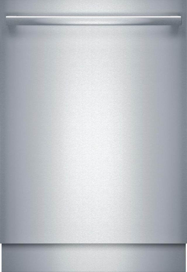 """Bosch Benchmark® 24"""" Stainless Steel Built In Dishwasher-SHX89PW75N"""