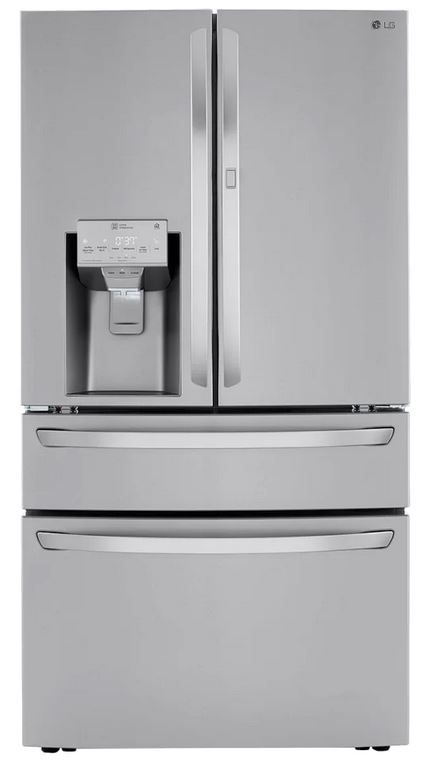 LG 22.5 Cu. Ft. PrintProof™ Stainless Steel Smart Wi-Fi Enabled Counter Depth Refrigerator-LRMDC2306S