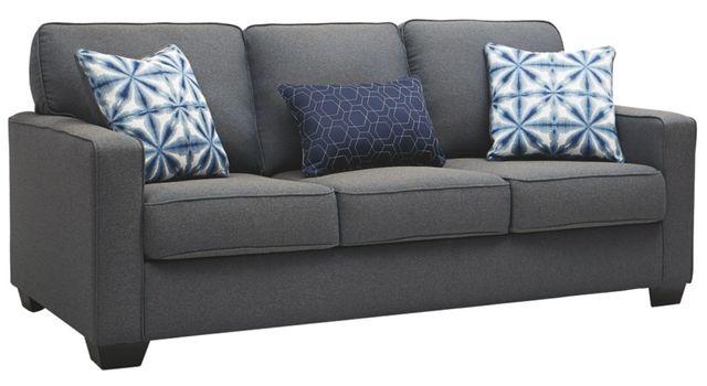Benchcraft® Kiessel Nuvella Steel Sofa-1450438